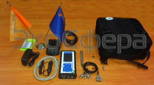 ЭКОФИЗИКА-110АВ4 - Базовый комплект поставки шумомера-трехосевого виброметра с первичной поверкой