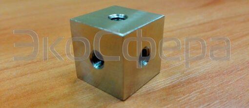 Адаптер для калибровки 3-х координатных вибродатчиков на виброкалибратор