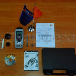 Testo 470 - Комплект поставки тахометра с первичной поверкой