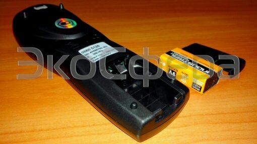 Testo 512 - Питания дифманометра осуществляется от батареи типа Крона