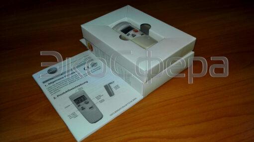 Testo 805 - Базовый комплект поставки инфракрасного термометра с поверкой