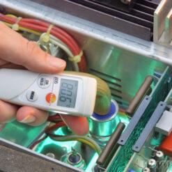 Проведение замеров Инфракрасным термометром Testo 805