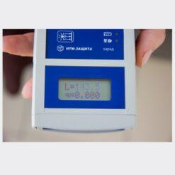 ИК-метр - Пример отображения результатов оценки интенсивности теплового излучения