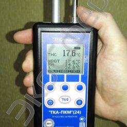 ТКА-ПКМ 24 - Термогигрометр + Измеритель ТНС-индекса с поверкой