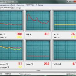 ТКА-ПКМ 24 - Измеритель температуры, влажности и ТНС-индекса