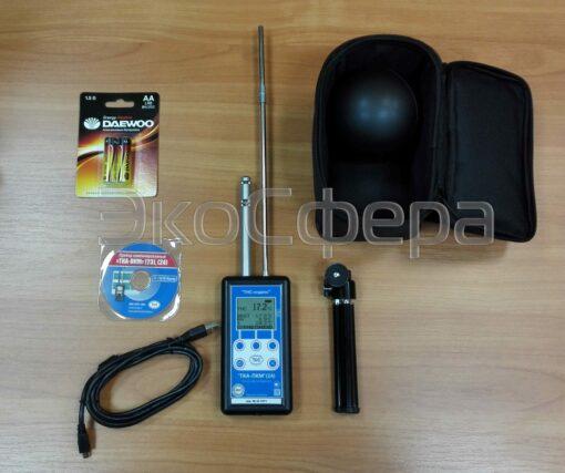 Комплект поставки термогигрометра ТКА-ПКМ 24 (с поверкой