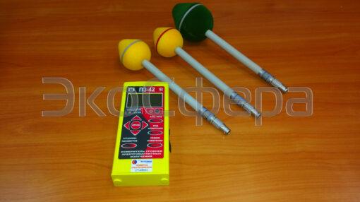 П3-42 - Измеритель уровней электромагнитных полей до 95 ГГц (в комплекте с антеннами АП-1, АП-2, АП-3) с поверкой