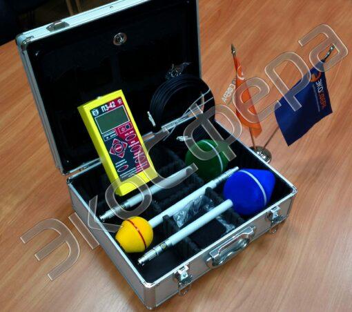 П3-42 - Измеритель напряженности переменного электромагнитного поля в комплекте с антеннами АП-2, АП-3, АП-5