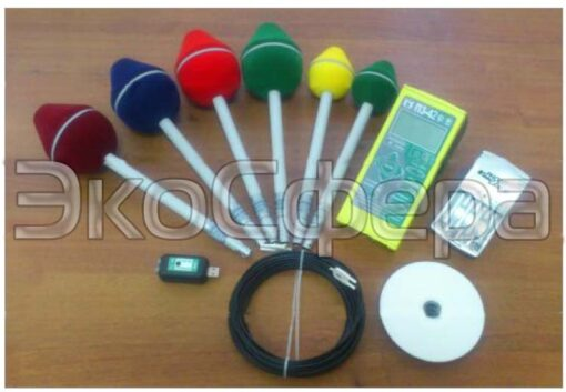 Полный комплект измерителя СВЧ-излучения П3-42 с антеннами АП-1, АП-2, АП-3, АП-4, АП-5, АП-6 с первичной поверкой