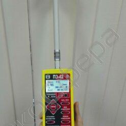 Измерение уровня электромагнитного поля на частоте 300 МГц измерителем П3-42 в комплекте с антенной АП-2 (с первичной поверкой)