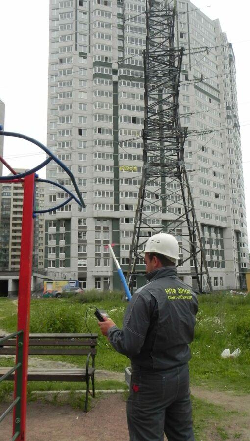 Применение измерителя напряженности электромагнитного поля П3-50В
