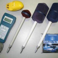 Измеритель СВЧ излучений П3-31 в комплекте с антеннами А1, А4, А5 с поверкой