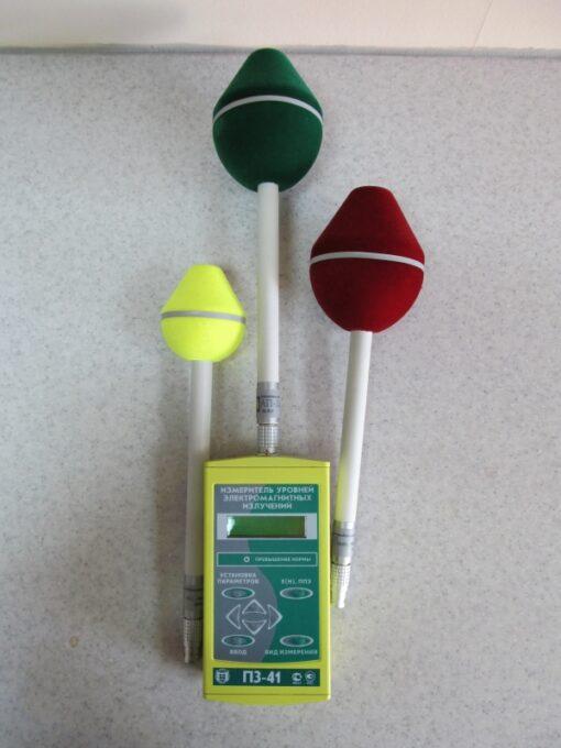 Измеритель СВЧ-полей П3-41 в комплекте с антенными преобразователями АП-1, АП-3, АП-5 (Рекомендованный комплект для СОУТ)