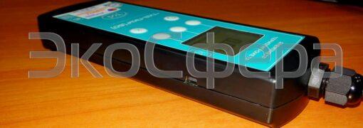 Термоанемометр ТКА-ПКМ модель 60 оснащён USB-портом для связи с ПК (программное обеспечение - по доп. заказу)