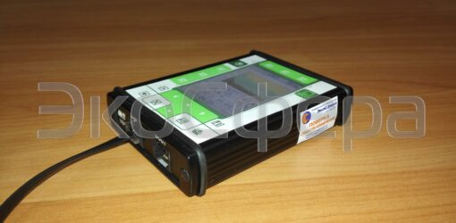 Внешний вид индикаторного блока ЭКОТЕРМИНАЛ, входящего в комплект поставки П3-80 Комплект 1 (старое исполнение, не поставляется)