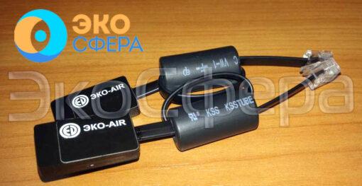 Комплект DIN-DIN-RF (ЭКО-AIR) для удалённого управления ударной машиной УМ-10 и усилителем мощности OED-PA360