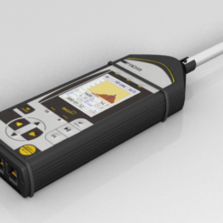 Шумомер-анализатор спектра Экофизика-110А в комплекте с предусилителем Р200 и микрофонным капсюлем МК-233