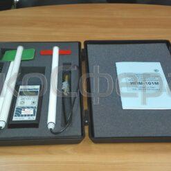 ИПМ-101М - Измеритель напряженности электромагнитного поля в комплекте с антеннами Е01, Н01 и Н02 с первичной поверкой