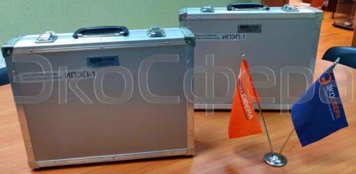 ИПЭП-1 - Измеритель напряженности электростатического в транспортировочном кейсе