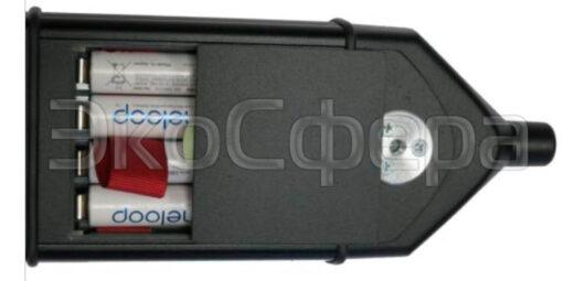 ОКТАВА-111 - Питание шумомера-анализатора спектра осуществляется от 4-х аккумуляторных батарей
