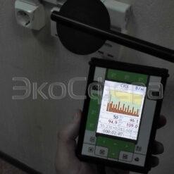 Комплект ВЕКО - Проведение измерений напряженности ЭМП 50 Гц