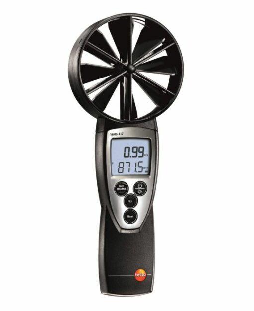 Testo 417 - Термоанемометр с крыльчаткой