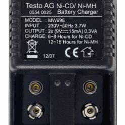 Внешнее зарядное устройство для 9 В аккумулятора термоанемометра Тэсто 417 (доп. опция)