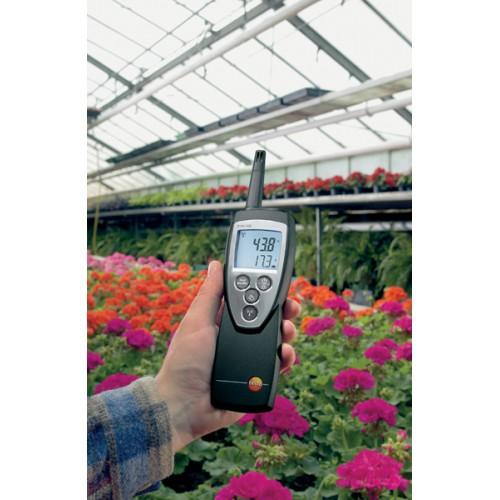 Измеритель температуры и влажности Тэсто 625 с первичной поверкой
