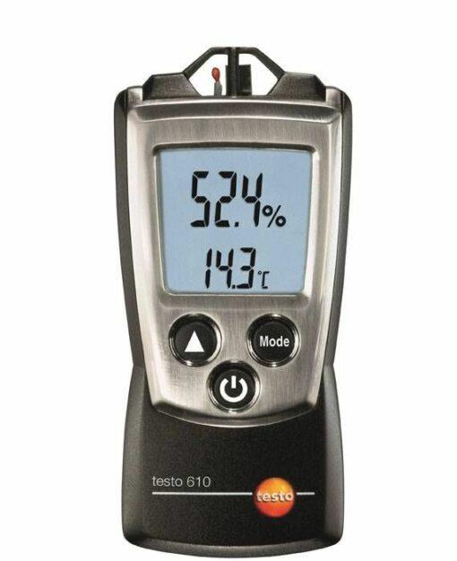 Testo 610 - Измеритель влажности и температуры