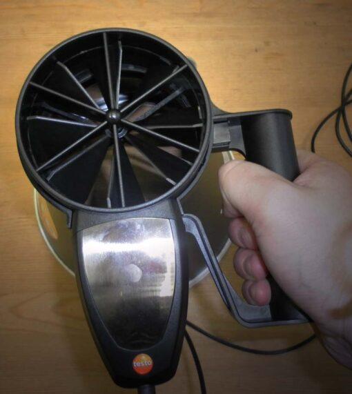 Круглая воронка для измерения расходов воздуха на круглых диффузорах не более 200 мм в диаметре, для термоанемометра Testo 417