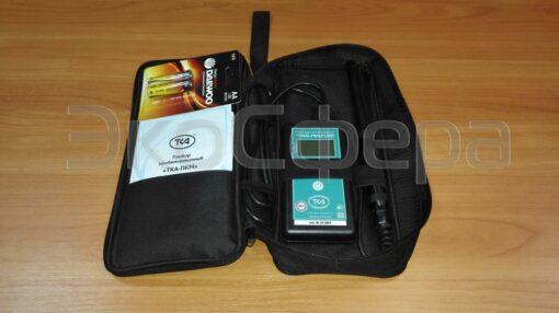 ТКА-ПКМ модель - Комплект поставки термогигрометра с первичной поверкой