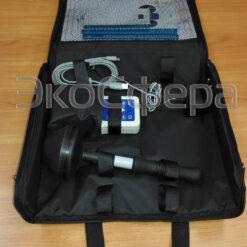 ВЕ-метр Модификация 50 Гц - Комплект поставки измерителя ЭМП 50 Гц в упаковочной сумке