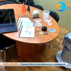 МКС-АТ1315 - Гамма-бета спектрометр в комплекте с ноутбуком (поставляется по доп. заказу)