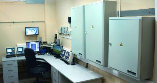 Дозиметрическая установка гамма-излучения УДГ-АТ110 - Зона управления (Операторская)