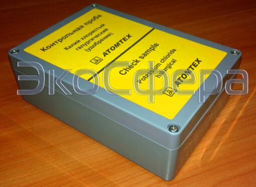 Контрольная проба для блока детектирования БДКГ-205М