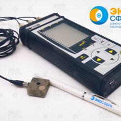 ЭКОФИЗИКА-111В (Белая) Комплект Виброэксперт-111В – Трехосевой виброметр, анализатор спектра
