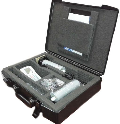 ДКС-96 в комплекте с блоком отображения информации УИК-06 и блоками детектирования БДМГ-96, БДЗБ-96 в упаковочной дипломате