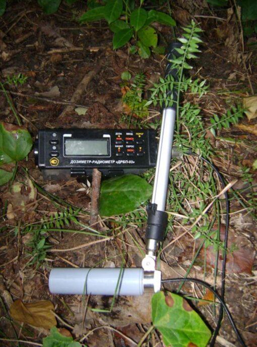 ДРБП-03 - Дозиметр-радиометр альфа-, бета-, гамма- и рентгеновского излучения в действии