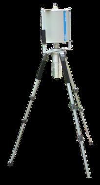 Портативный полупроводниковый ОЧГ спектрометр с азотным охлаждением Эко ПАК - на триноге