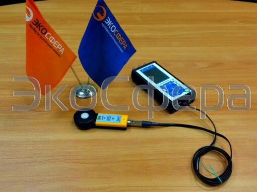 еЛайт-DIN - Цифровой измеритель параметров световой среды в комплекте с индикаторным блоком ЭКОФИЗИКА