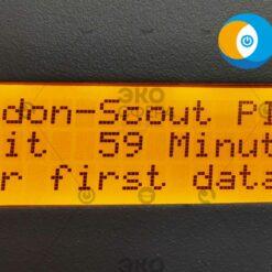 Radon Scout Plus (РГА-1100 Плюс) - Начало измерения радиометром ОА радона