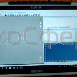 Планшетный компьютер ALGIZ 10X для вывода данных со спектрометра