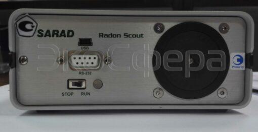 Radon Scout PLUS - Внешний вид радиометра радона с поверкой