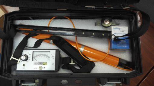 Комплект поставки дозиметра гамма-излучения СРП97 в упаковочном дипломате