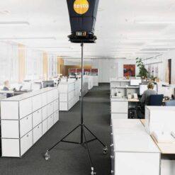 Testo 420 - Электронный балометр в работе