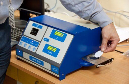 Радиометр УМФ-2000 позволяет работать с мазками диаметром до 40 мм без озоления
