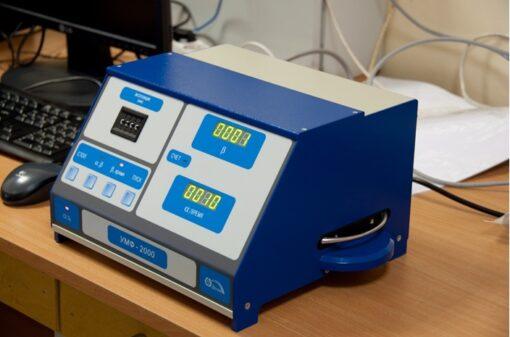 Внешний вид радиометра альфа-бета активности УМФ-2000 с поверкой