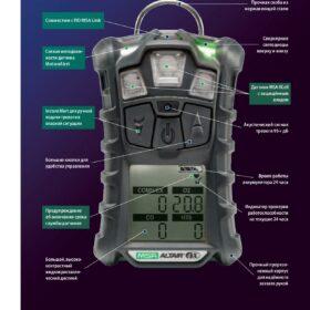 ALTAIR 4X - Многоканальный газоанализатор