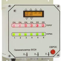 ЭССА-СО/N-СН4/M исполнение И - Газоанализатор с индикаторным экраном