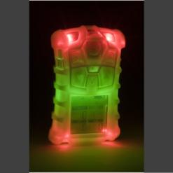 Внешний вид газоанализатора Altair 4X с фосфоресцентным (светящимся) корпусом, с первичной поверкой